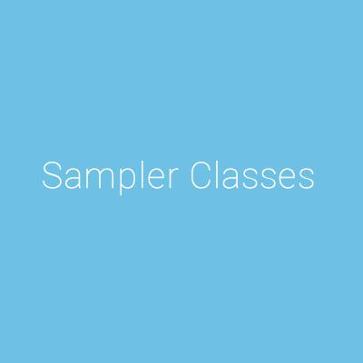 Summer Sampler Classes at DDANW