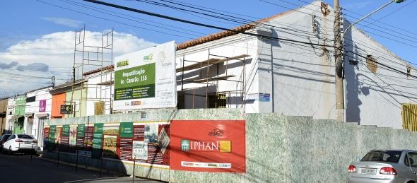 Cuiabá : Falta de repasses federais dificulta conclusão das obras do PAC Cidades Históricas