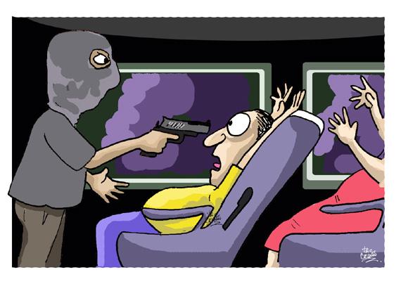 Assaltantes trancam passageiros de roupa íntima em bagageiro de ônibus