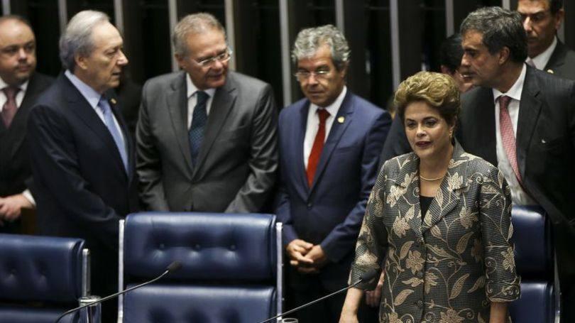 Leia a íntegra do discurso de Dilma Rousseff no Senado