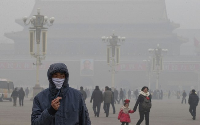 'Arpocalipse' na China: poluição coloca meio bilhão de pessoas em alerta vermelho