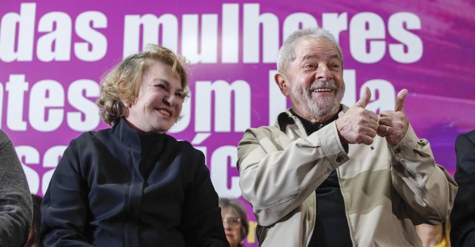 Marisa Letícia, mulher de Lula, é internada com um AVC em São Paulo