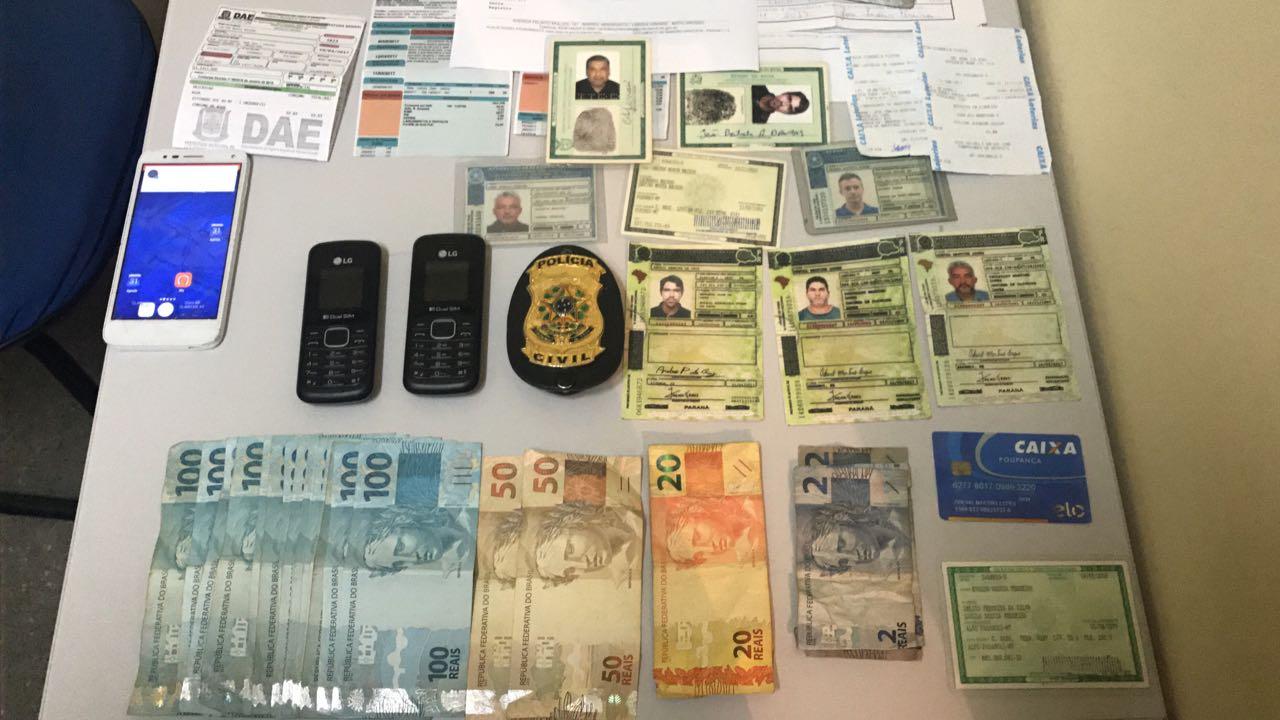 DERRFVA: Polícia Civil prende dupla por golpes em concessionárias com uso de documentos falsos