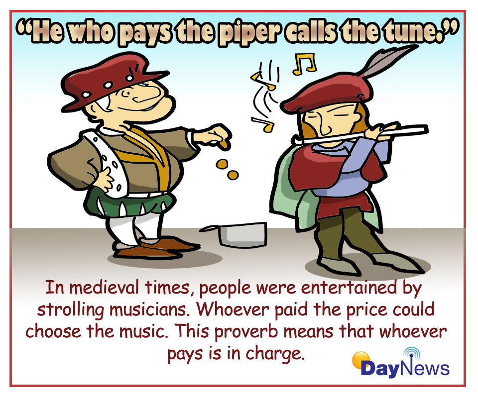 Image result for pay the piper