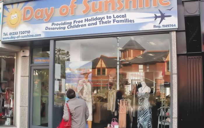 A Day of Sunshine The New Shop in St Annes