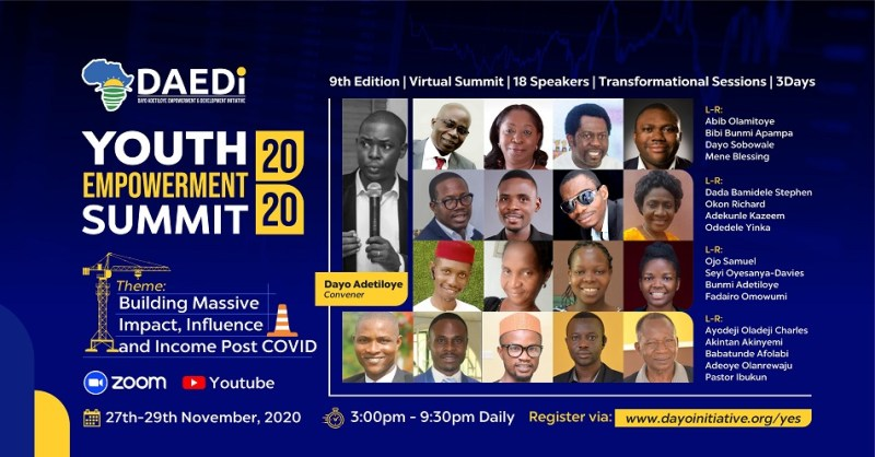 Register for Youth Empowerment Summit 2020