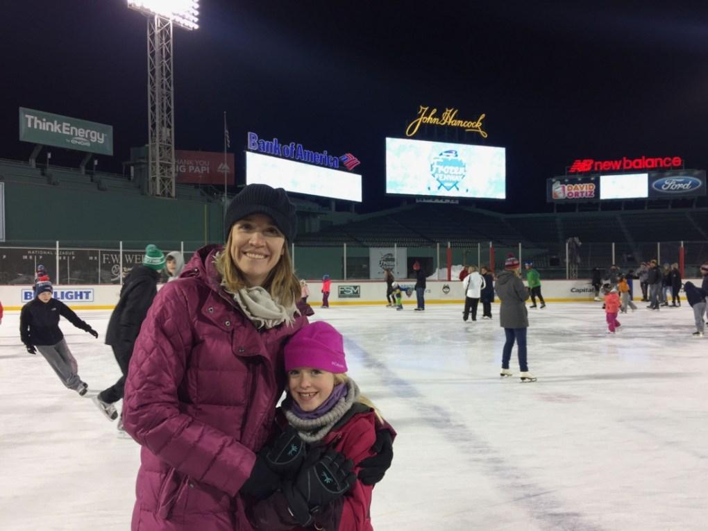 Ice Skating at Fenway Park