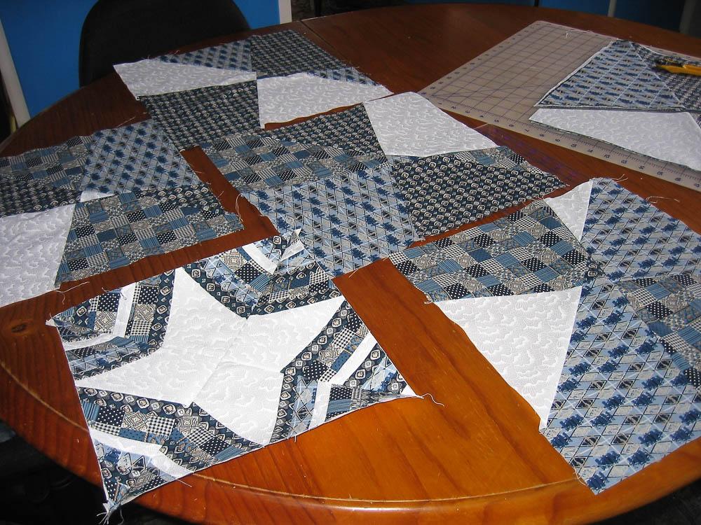 spider web quilt blocks