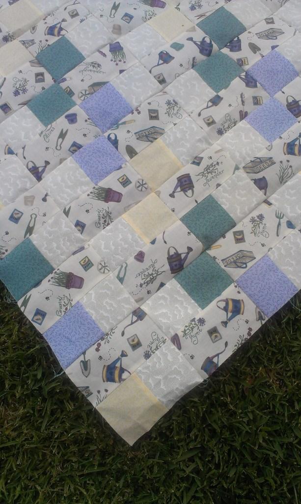 Purple Garden Quilt