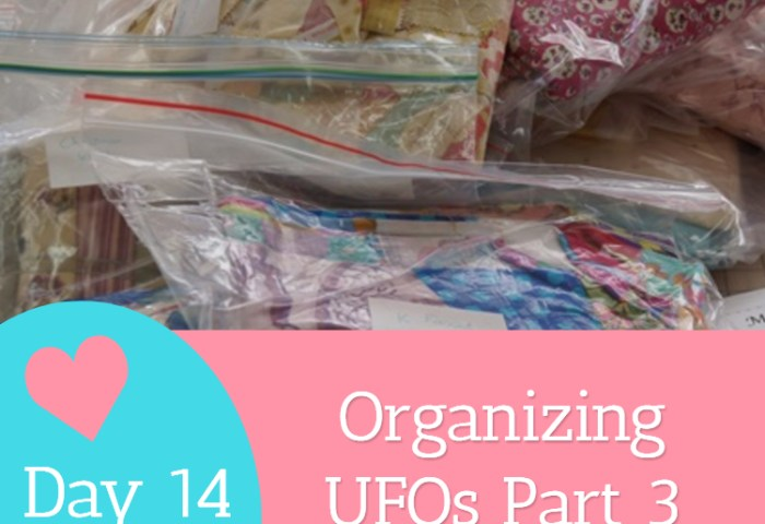 Day 14 – Organizing UFOs Part 3