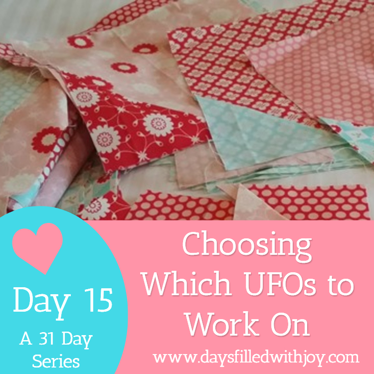choosing which UFOs to work on