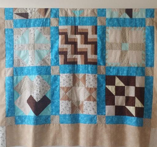 beginner's sampler quilt