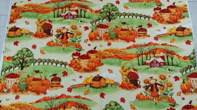 Cute Autumn Fabric