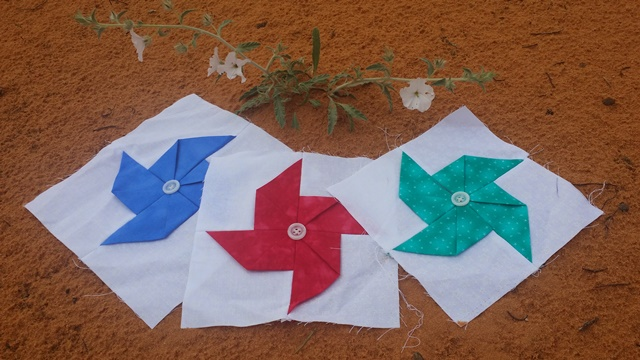pinwheels in the desert