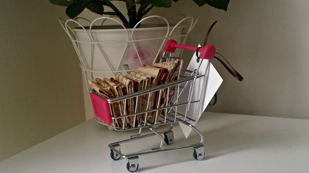 fabric shopping trolley