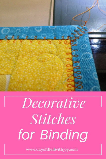 Using Decorative Stitches For Binding Quilts On Your Bernina And Janome