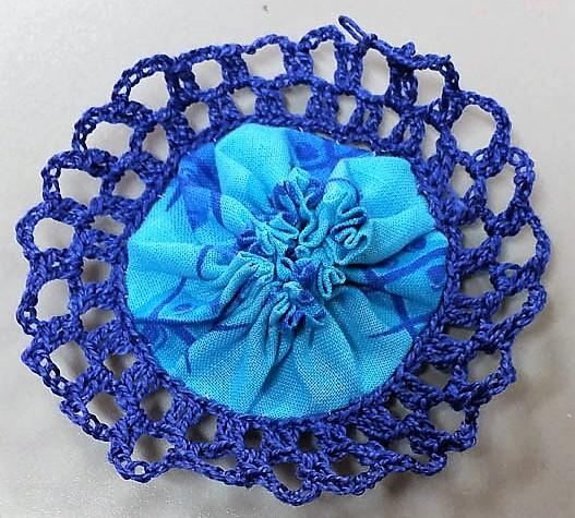 crochet yoyos