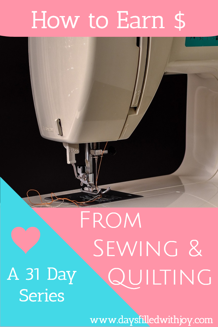 How to earn money from sewing and quilting