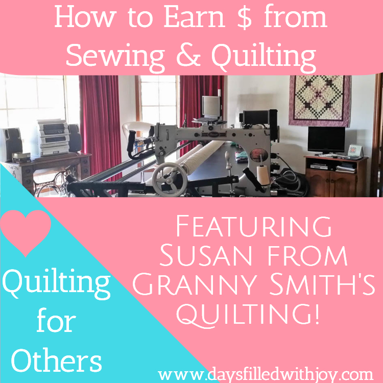 Quilting for Others - Featuring Susan from Granny Smith's Quilting!