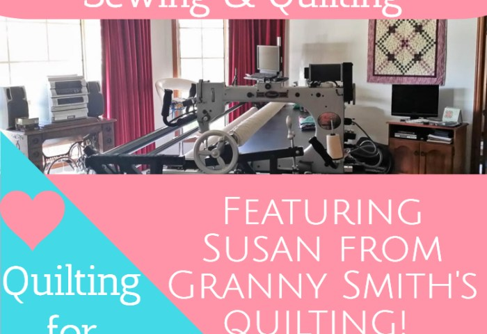 Quilting for Others – Featuring Susan from Granny Smith's Quilting!