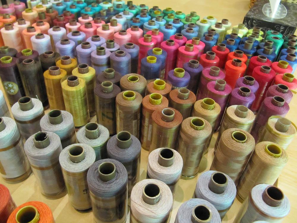 Italian cotton threads
