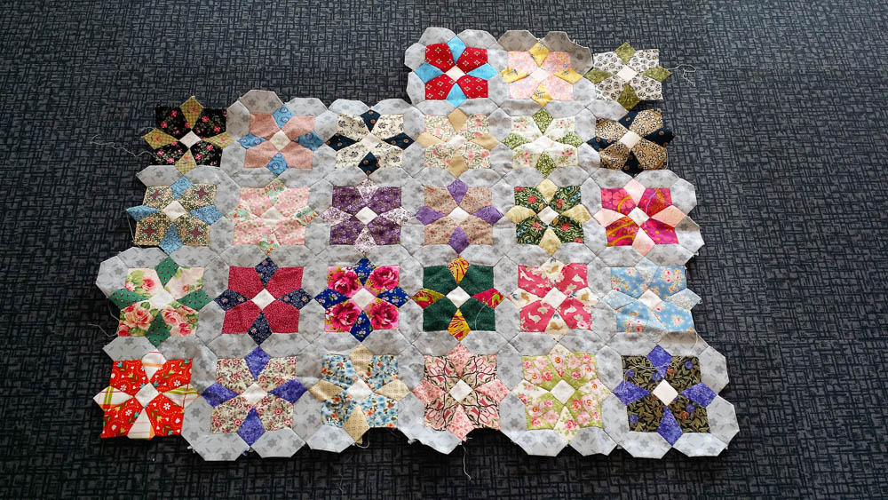 English Paper Piecing - so pretty