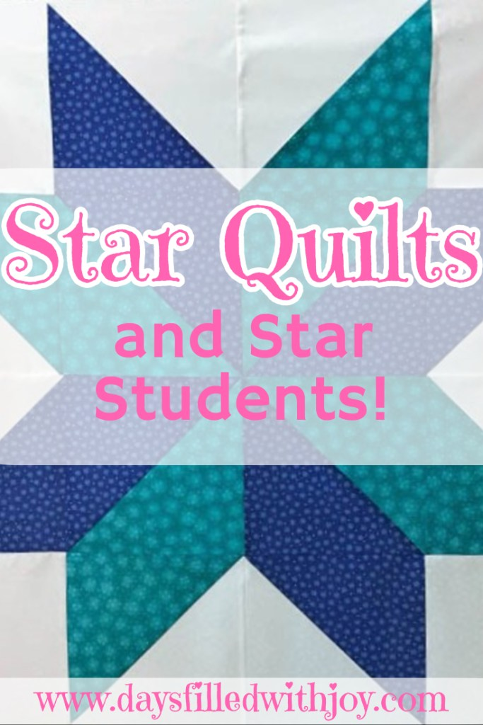 Quick Star Quilt class, you can make this star top in an hour!