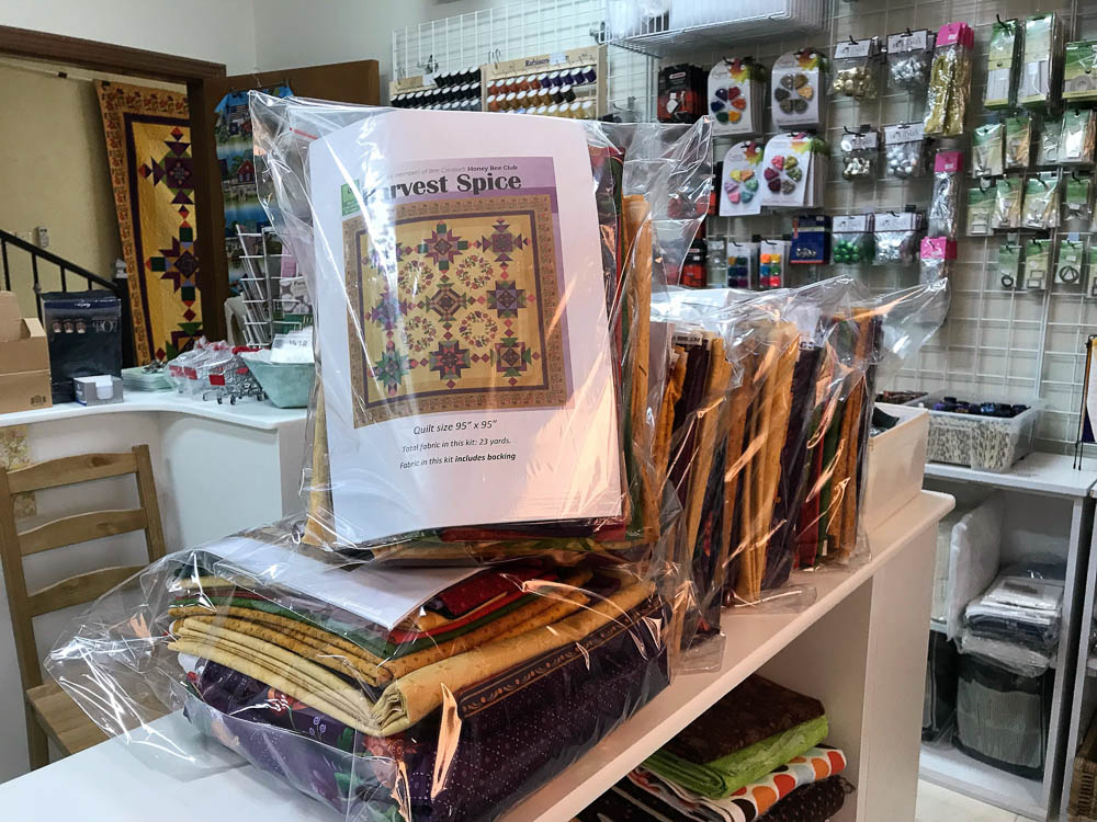 Harvest Spice kits - 23 yards of fabric!!