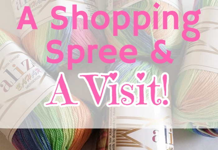 A Shopping Spree and A Visit!