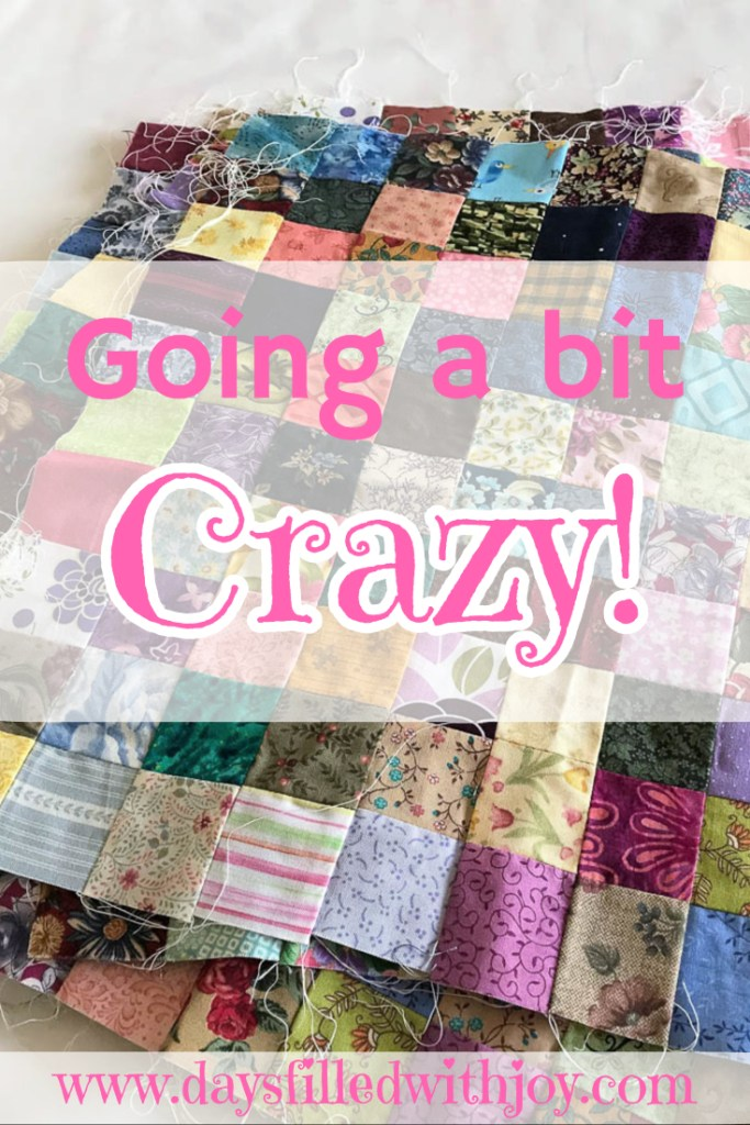 A quilter goes a bit crazy in new country!