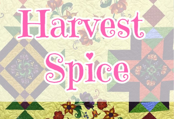 14 Kits Harvest Spice Kits are Finished!