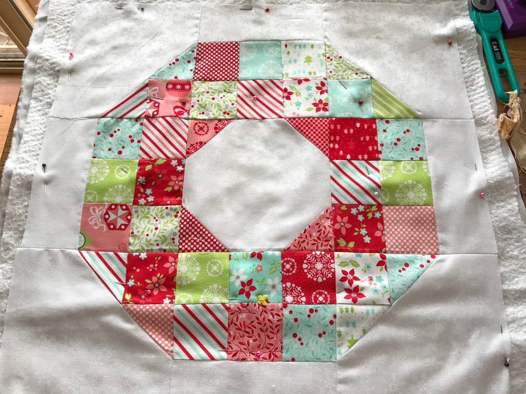 Christmas in July ~ Gift bags, Christmas Crackers and Wreath Cushion ...