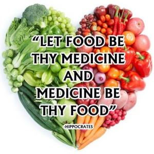 Let food be thy medicine - Hippocrates