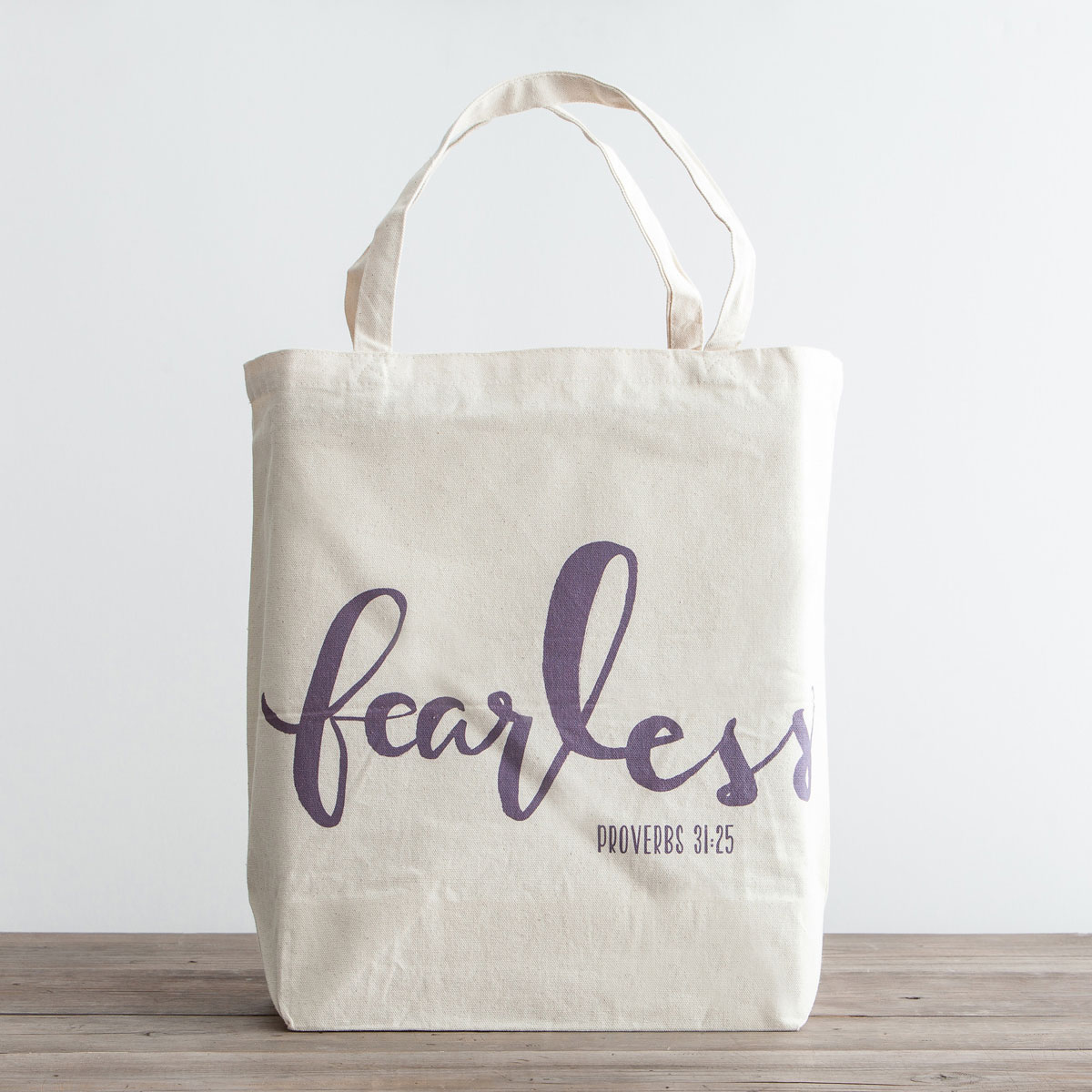 Fearless - Canvas Tote