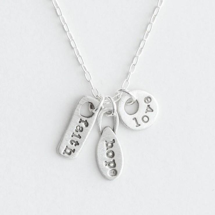 Lisa Leonard - Three Things Necklace