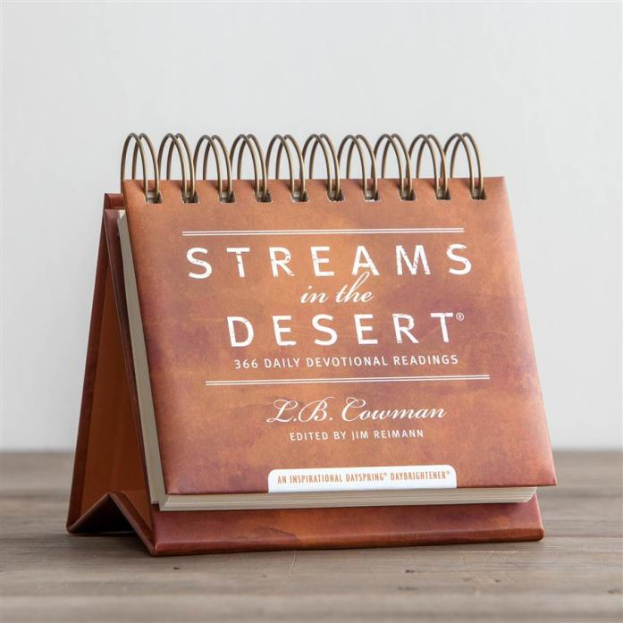 Streams in the Desert - 365 Day Perpetual Calendar