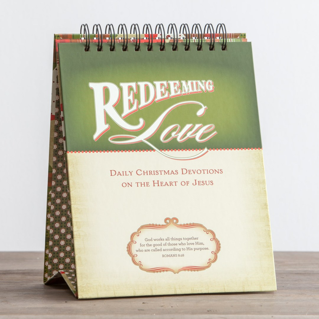 Redeemed Christmas - The Heart of Jesus - Advent Tabletop Devotional