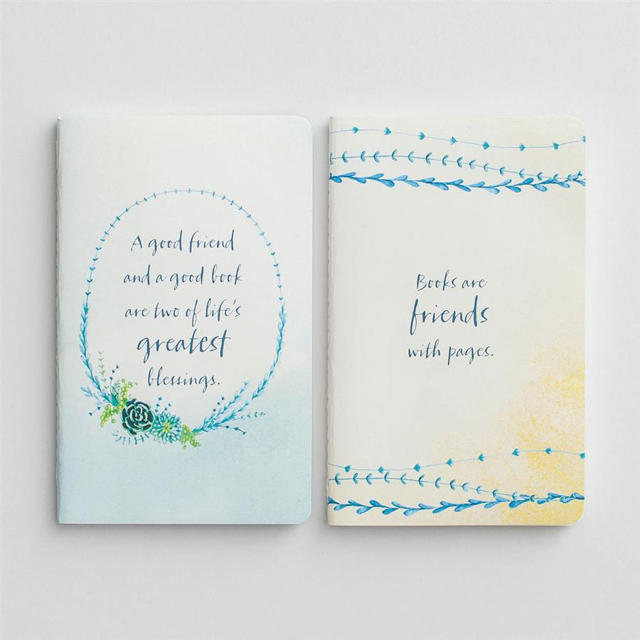 Good Friend & Good Book - Journals, Set of 2