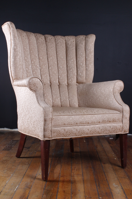 Antique White Chair