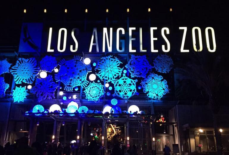 L A Zoo Lights Tickets Spectacular Light Show