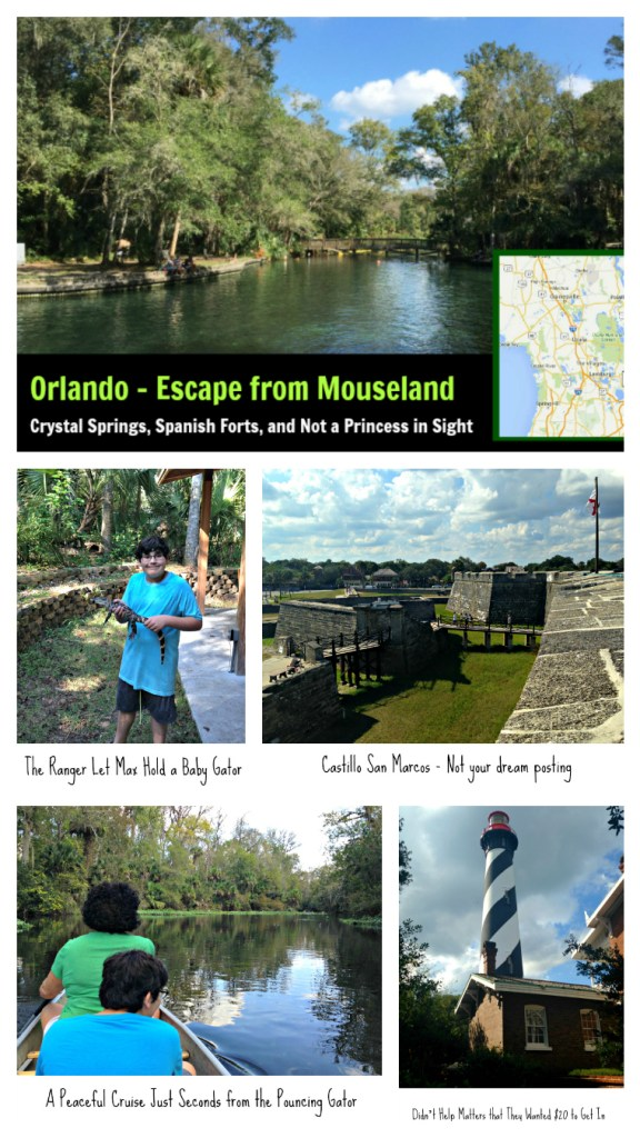 Enjoy a great day trip from Orlando that is a theme park.