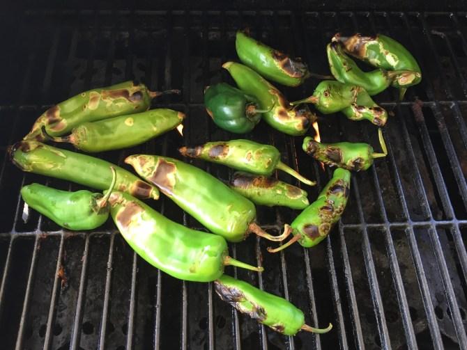 Nicely Roasted Chilis