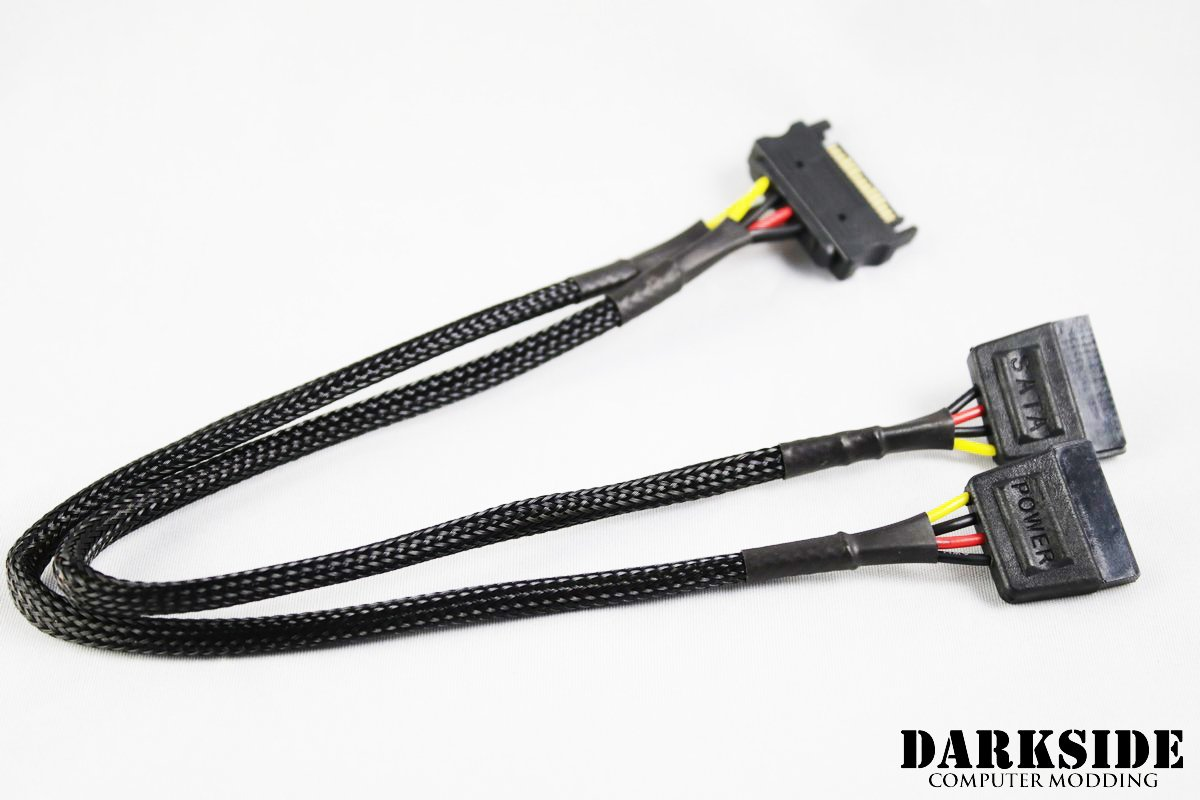 Sata Power Y Cable 30cm