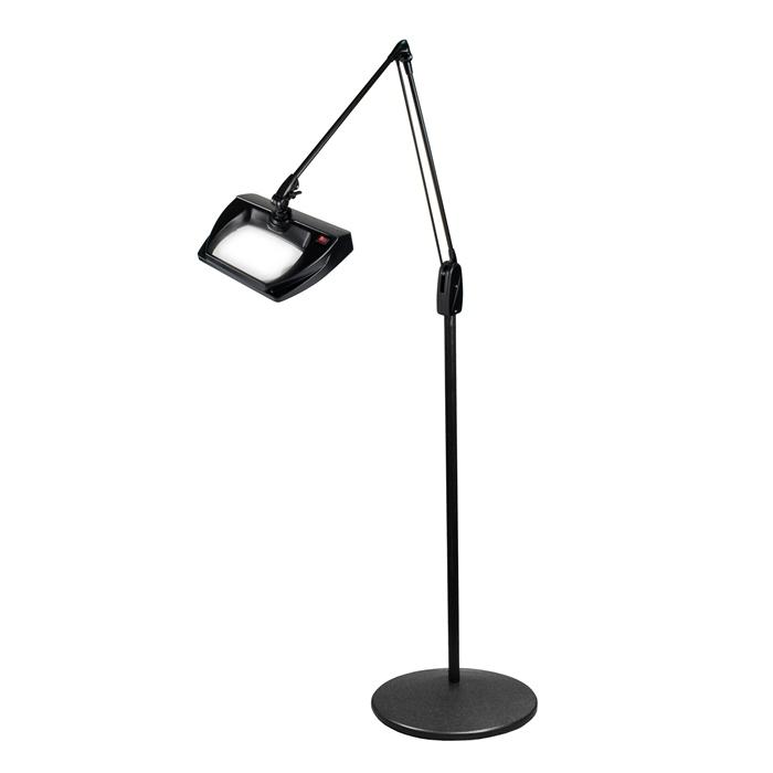 Industrial Floor Standing Lighted Magnifier