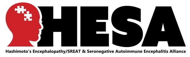 New HESA Logo Hashimoto's Encephalopathy SREAT Seronegative Autoimmune Encephalitis Alliance