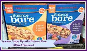 Summer Shape Up with Balance Bare #BareAtWalmart