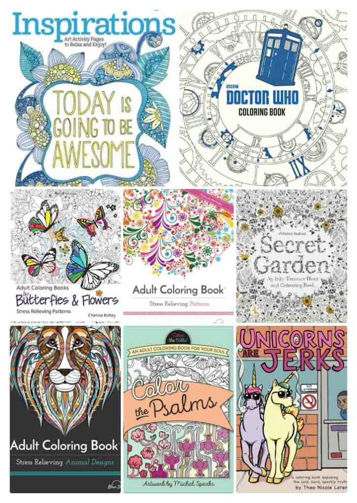 Huge List of the BEST Adult Coloring Books - #Amazon ...