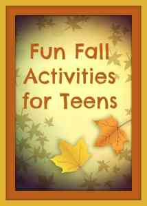 Fall Activities for Teens