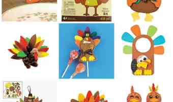 Thanksgiving Turkey Crafts #Amazon