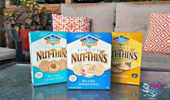 Embrace the Summer With Blue Diamond® Nut-Thins + $3,000 Giveaway #ad #NutThinsContest #IC